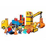 Lego Duplo Kocke Big Construction Site 10813