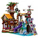 Lego Friends Kocke Adventure Camp Tree House 41122
