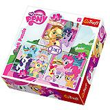 Trefl Puzzle 3u1 Rainbow Dash And Fluttershy 20, 36, 50 kom