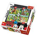 Trefl 4u1 Puzzle Playing In The Park 34261