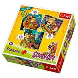 Trefl Puzzle 3u1 Scooby Doo Look out! Ghosts! 20, 36, 50 kom